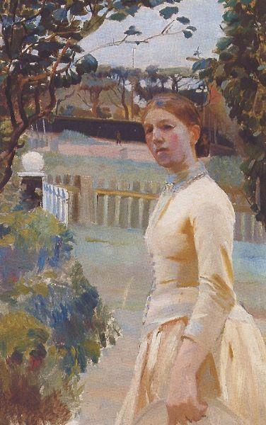 Anna-Kirstine-Brondum-Ancher-AUTORRETRATO